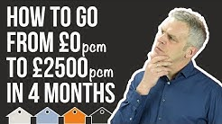 How To Make 2500 a Month Cashflow In 4 Months With a Property Investment Rent To Rent Strategy!