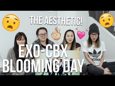 MV REACTION | EXO-CBX (첸백시) '花요일 (Blooming Day)' MV