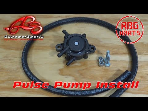 How to install a Go Kart Pulse Pump ~ Now Ya Know