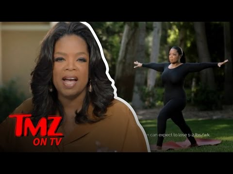 Oprah Has Shed Some Pounds Since Joining Weight Watchers! | TMZ TV