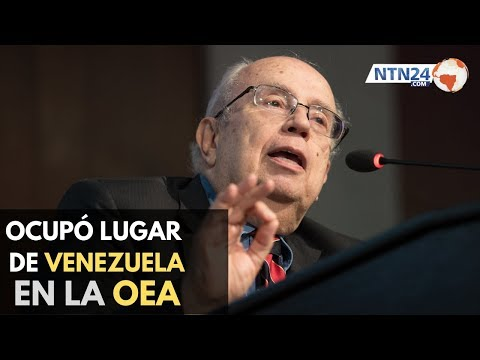 Gustavo Tarre ocupó en el puesto de Venezuela en reunión de la OEA