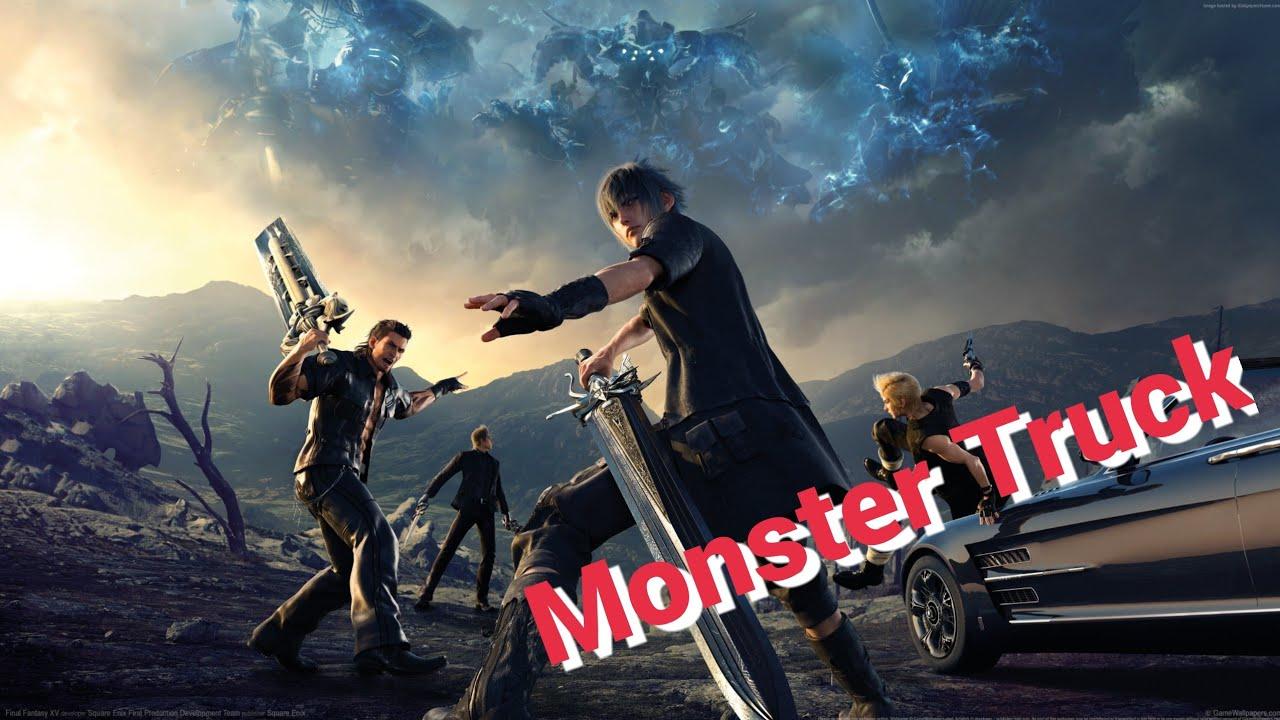 Final Fantasy Xv Novo Carro Dirigindo Livre No Mapa Regalia D Type