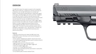Smith & Wesson M&P M2.0 First-Look Preview