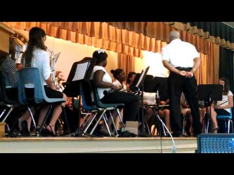 Evergreen/Cerro Gordo Middle School Band May 2014