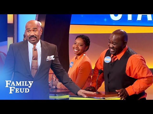 After 50 years, here's why Grandpa's still hot for Grandma... | Family Feud