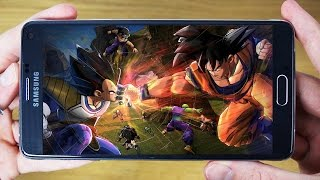 How to download and install Dragon Ball Z high Graphic Game on Android Phone
