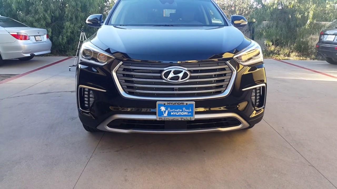 2017 Hyundai Santa Fe Se Ultimate Detailed Review