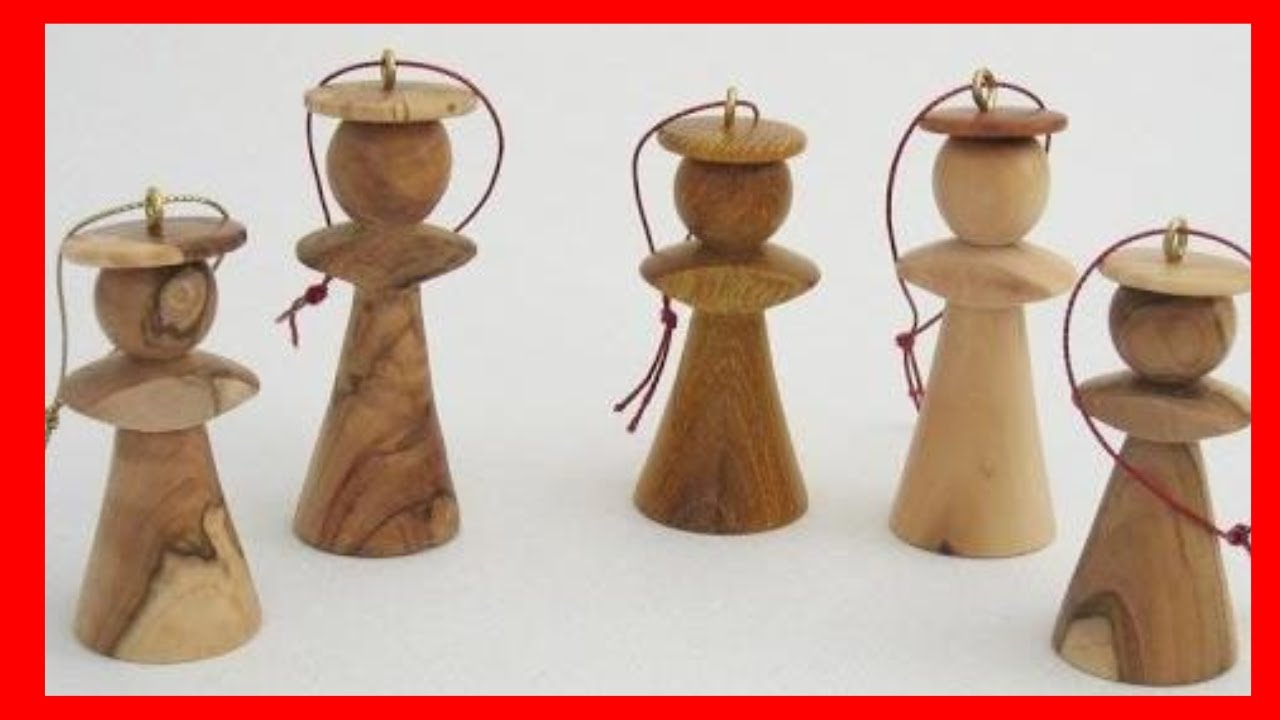 how to make wood turned christmas ornaments