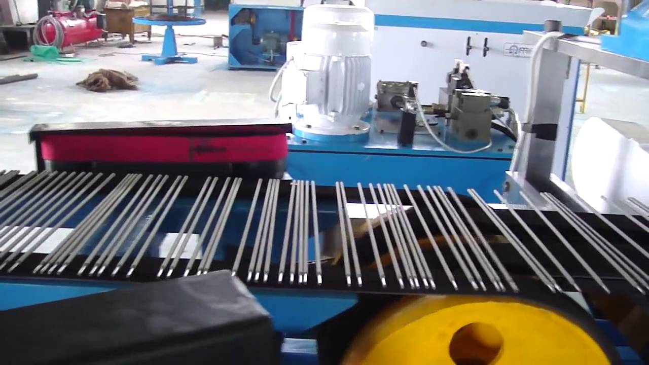 Compilation of rods factory video