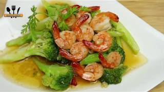 Easy Shrimp and Broccoli Recipe Stir Fry – Best healthy shrimp and broccoli stir fry recipe