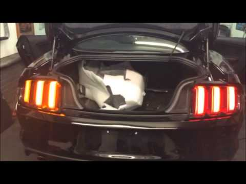 Mustang 2015 2016 European Sequential Tail Lights Światła
