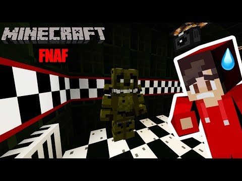 Minecraft: FIVE NIGHTS AT FREDDY'S BEI MINECRAFT! KAAN REAGIERT AUF DIE GRUSELIGE PIZZERIA! FNAF thumbnail