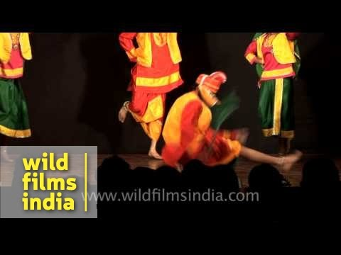 Bhangra dance: Traditional dance from Punjab