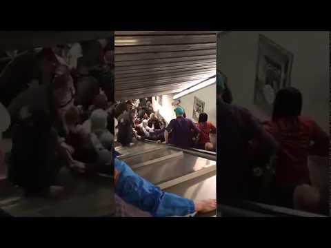The Man Cave - Runaway Escalator in Rome
