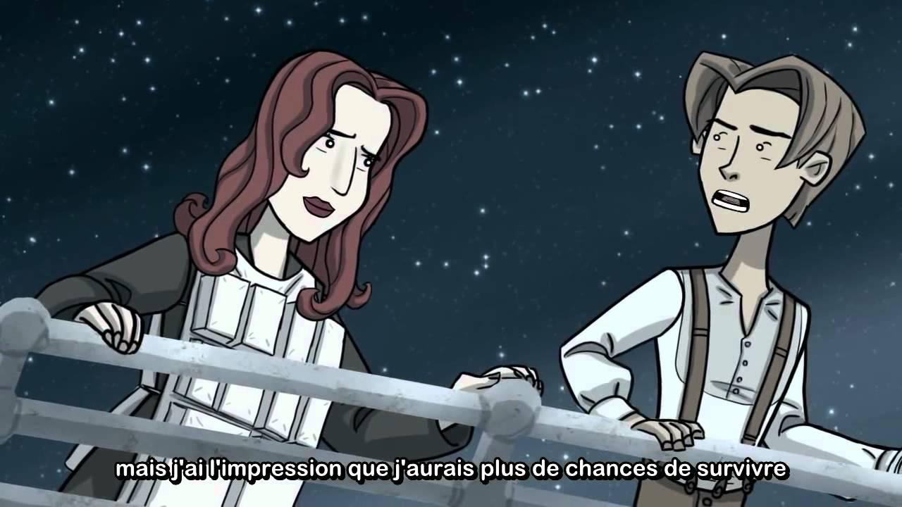 Comment a aurait d finir titanic youtube - Titanic dessin ...