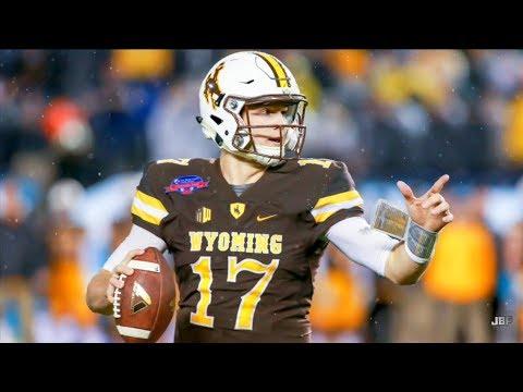 Strongest Arm in College Football    Wyoming QB Josh Allen Career Highlights ᴴᴰ