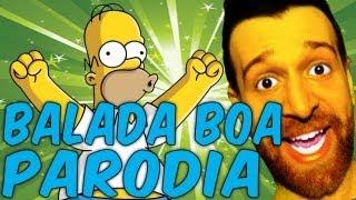 GIOILPEGGIORE Feat. Homer Simpson - Gusttavo Lima - Balada Boa - PARODIA-SPOOF