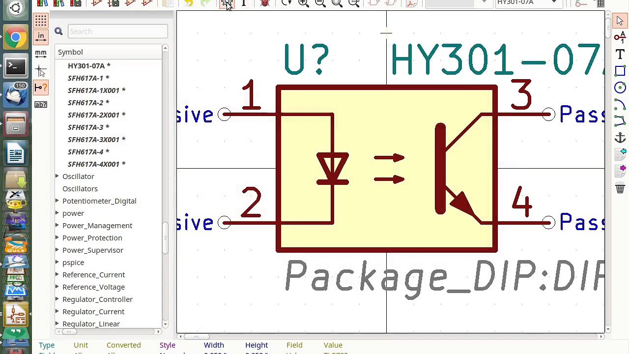 Kicad Make a Schematic Symbol from Existing Symbol on