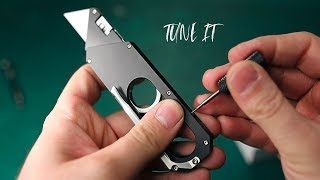 Maker Knife: Unboxing and Tuning | GIACO
