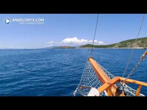 Turkey Bodrum boat trip - Турция Бодрум морская прогулка