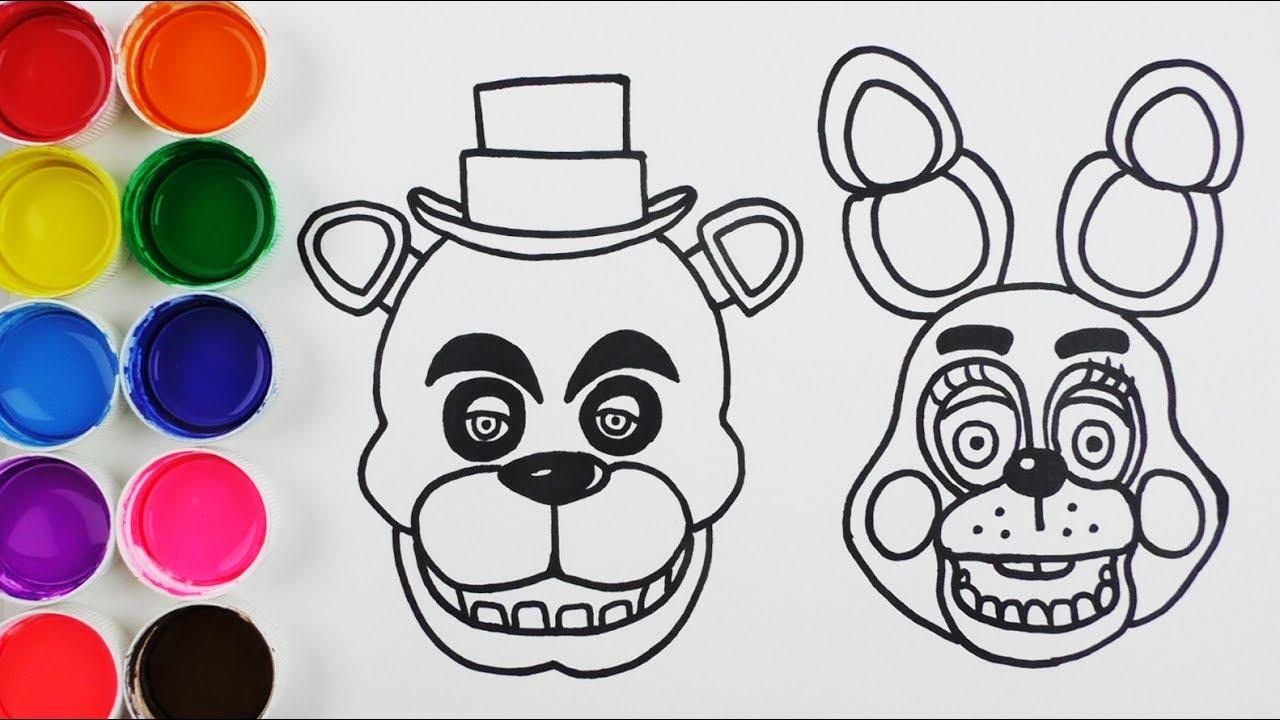 Cómo Dibujar Y Colorear A Freddy