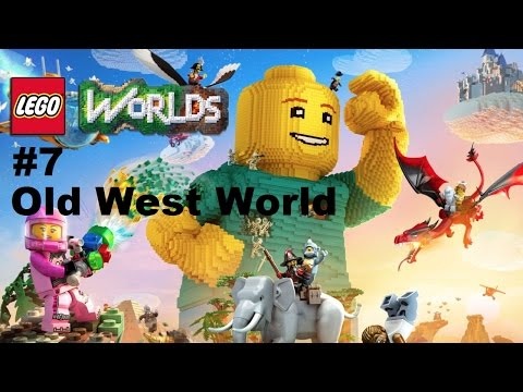 Lego Worlds: #7 Exploring Old West World Ps4 Playthrough