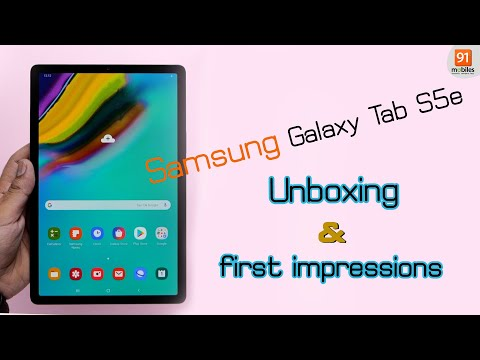 Samsung Galaxy Tab S5e: Unboxing   Hands-on   Price [Hindi-हिन्दी]
