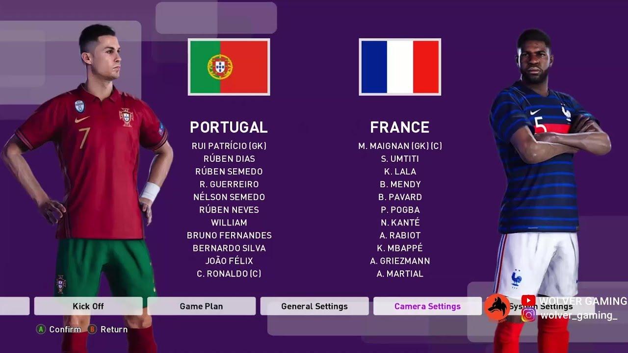 12+ Portugal Vs France Background