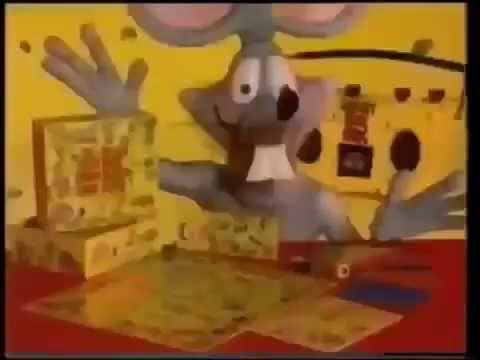 The Video Board Game Rap Rat Commercial 1992 Youtube