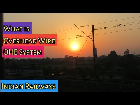 Indian Railway Signalling System :-  OHE System | what is Overhead wire