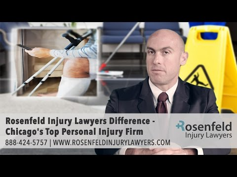 Rosenfeld Injury Lawyers Difference - Chicago's Top Personal Injury Firm