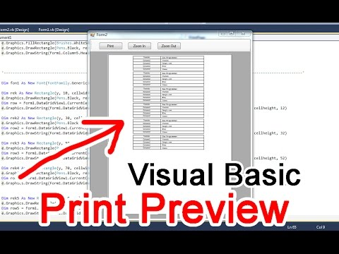 Printing A Receipt In VB 2010 using data from ListView