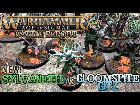 Warhammer: Age of Sigmar 2E Battle Report - NEW Sylvaneth vs. Gitz