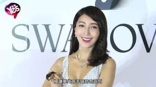 台灣女星楊謹華胸前深V大解放 談戀情:期待遇到對的人