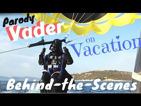 Parody Vader on Vacation: Behind-the-Scenes of 'The Parasail Menace'