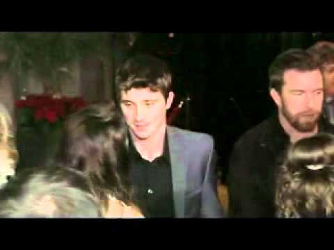 Garrett Hedlund and Leighton Meester - Country Strong LA ...