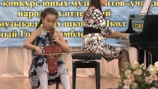 """Адия Ташимова 10 лет """"Кара Торгай"""",""""Красный Сарафан"""",""""Концерт №3"""""""