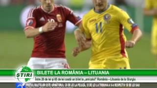 BILETE LA ROMÂNIA – LITUANIA