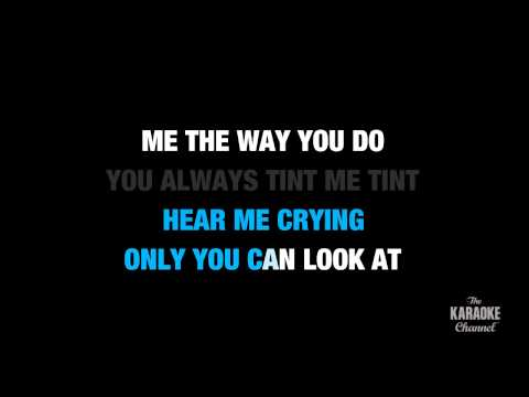 White Noise in the Style of Disclosure feat AlunaGeorge karaoke  with lyrics no lead vocal