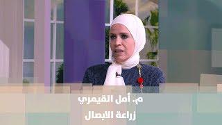 م. أمل القيمري - زراعة الأبصال