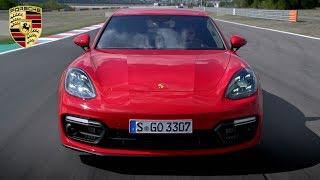 2019 Porsche Panamera GTS | Carmine Red | Driving, Interior, Exterior