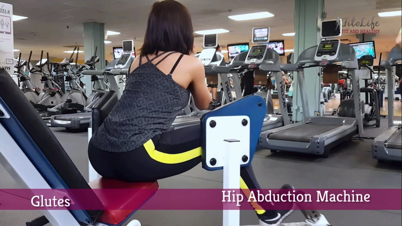 Hip Abduction Machine Exercise for Round Glutes - YouTube
