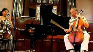 Cello Masterclass with Pieter Wispelwey