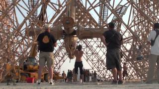 Building The Cradle Of Mir @ Burning Man