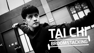 Broomstacking: Curling meets Tai Chi
