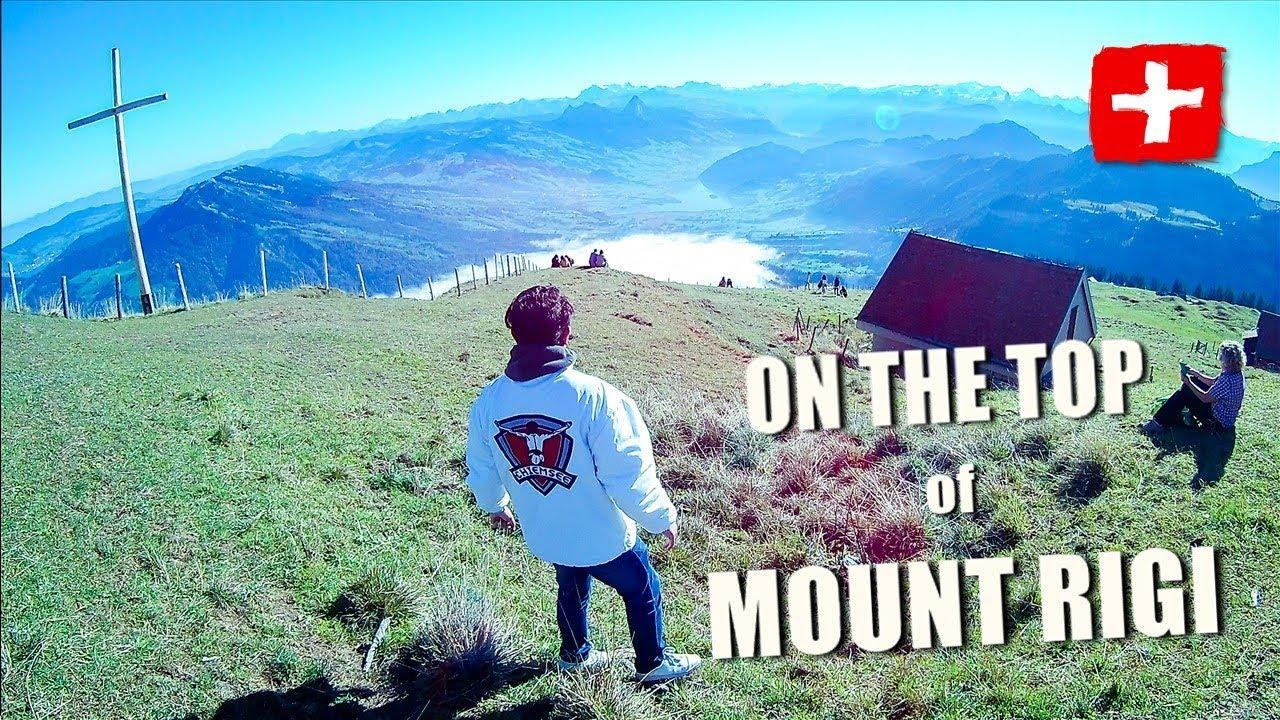 visiting mount rigi switzerland trip youtube