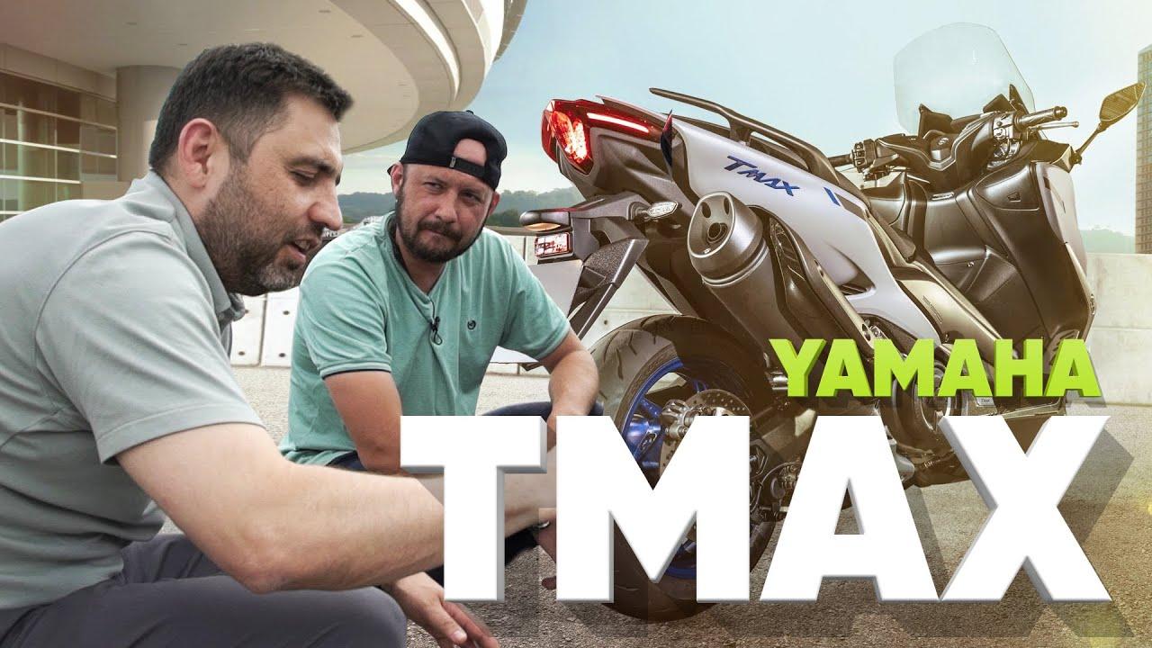 Yamaha TMAX - МОТОБТД
