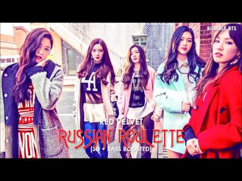[3D+BASS BOOSTED] RED VELVET (레드벨벳) - RUSSIAN ROULETTE (러시안 룰렛) | bumble.bts