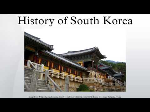 History of South Korea