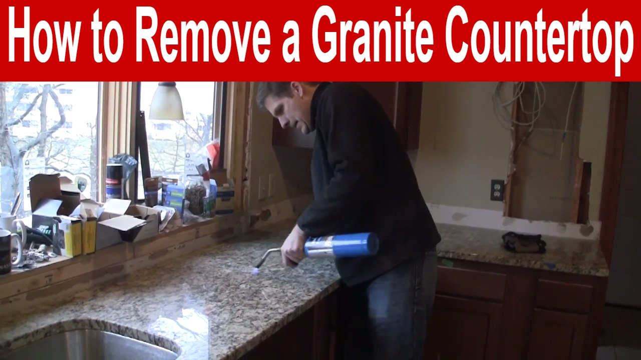 How to Remove a Granite Countertop
